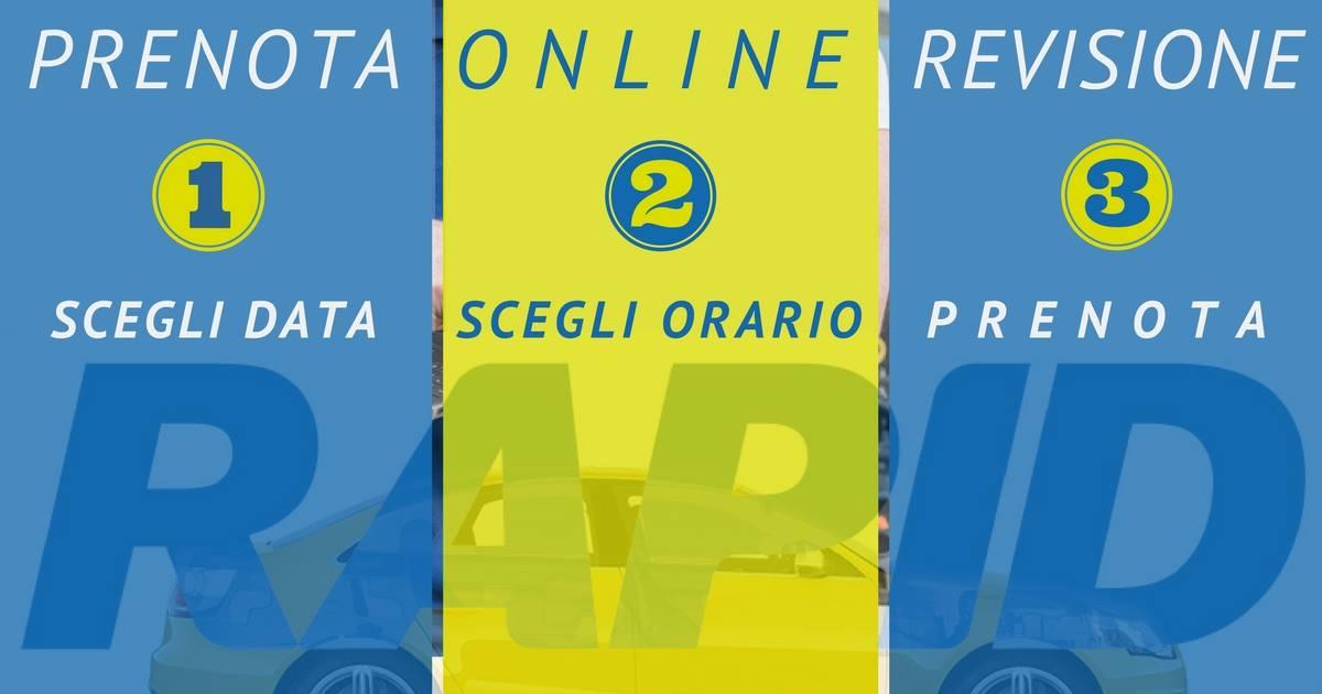 Prenota online Revisione Rapid